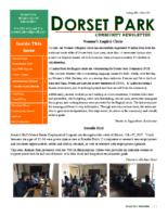 Spring 2017 Dorset Park Newsletter