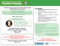 Palliative Planning Education Day
