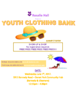 Clothing Bank – Rosalie Hall