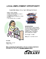 Youth Library Job