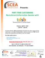 TDSB Hiring Event