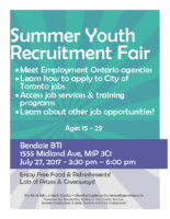 Summer Youth Recruitment Fair