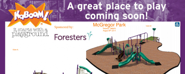 New Playground at McGregor Park!